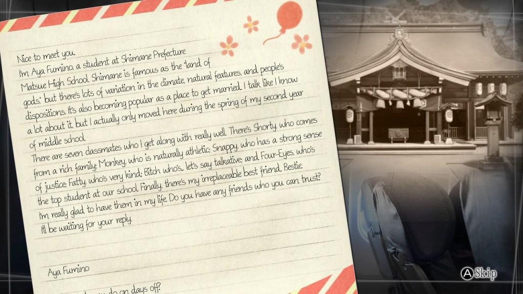 La prima lettera di Root Letter Last Answer