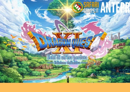 Dragon Quest XI Switch anteprima
