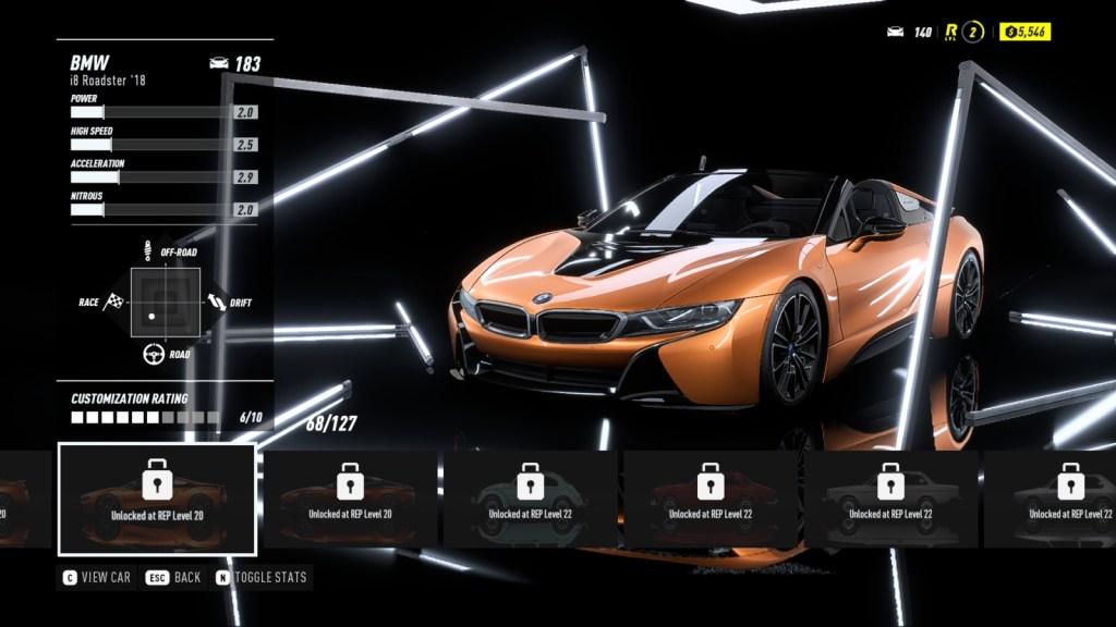 BMW i8 Roadster '18