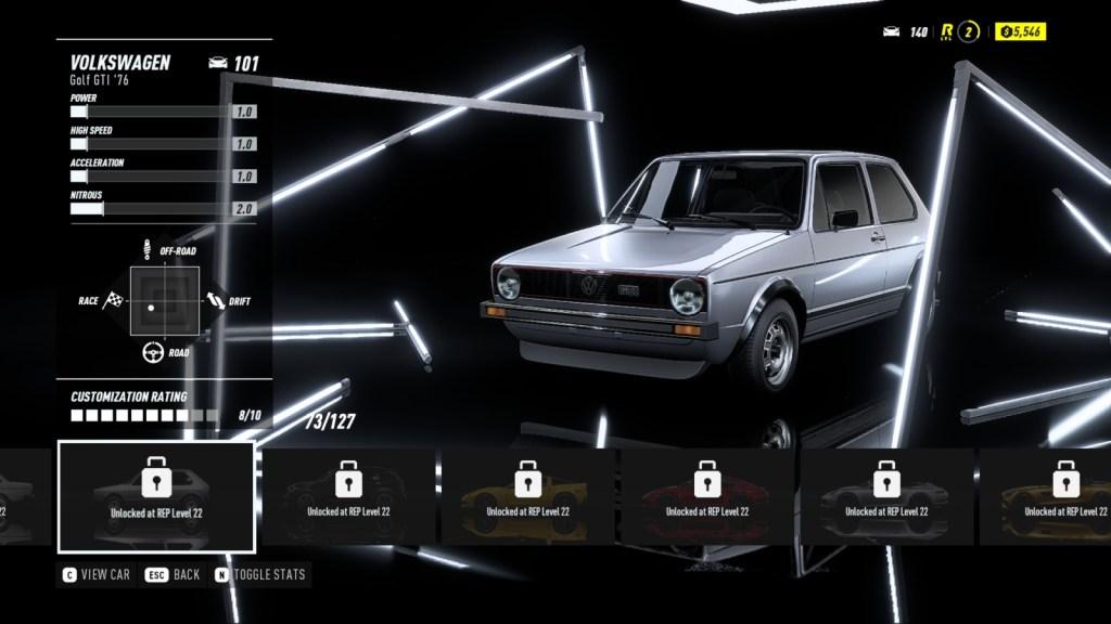 VOLKSWAGEN Golf GTI '76