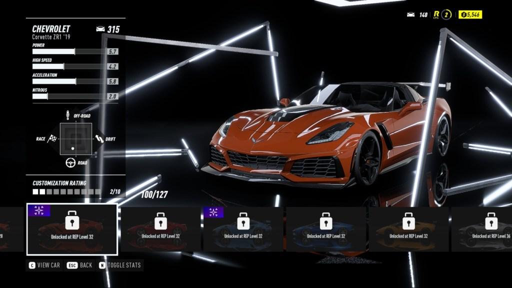 CHEVROLET Corvette ZR1 '19