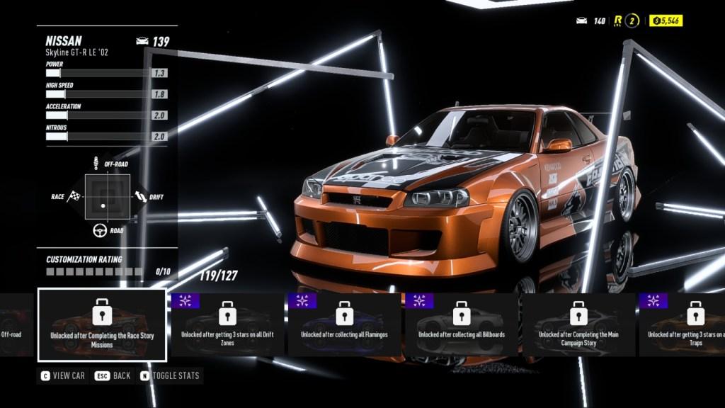 NISSAN Skyline GT-R LE '02