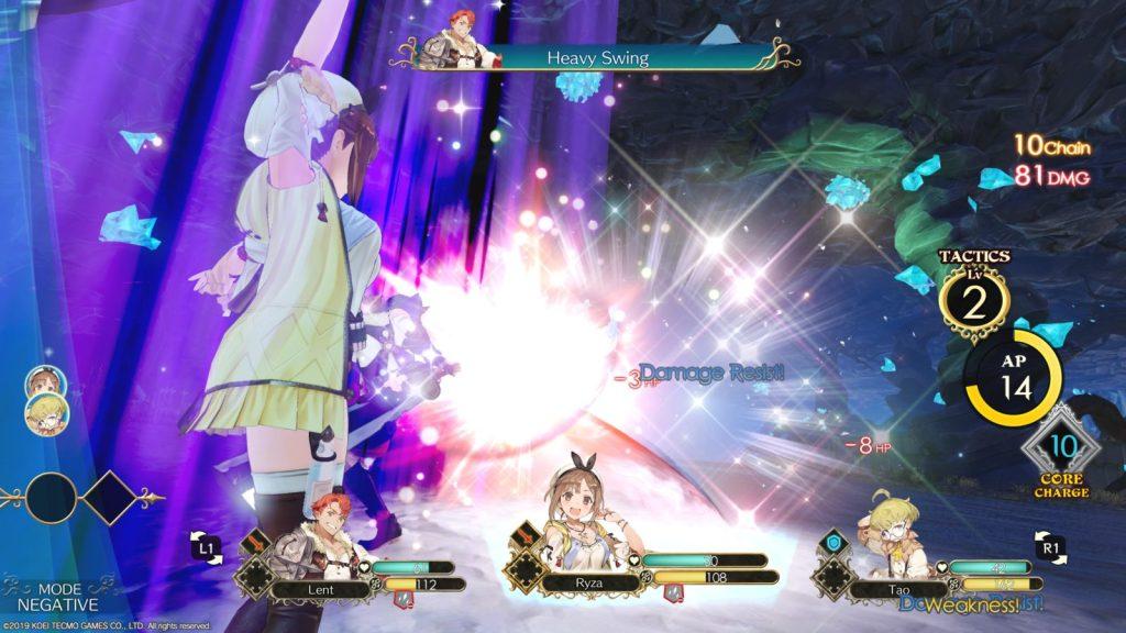 Combattimenti ps4 Atelier Ryza