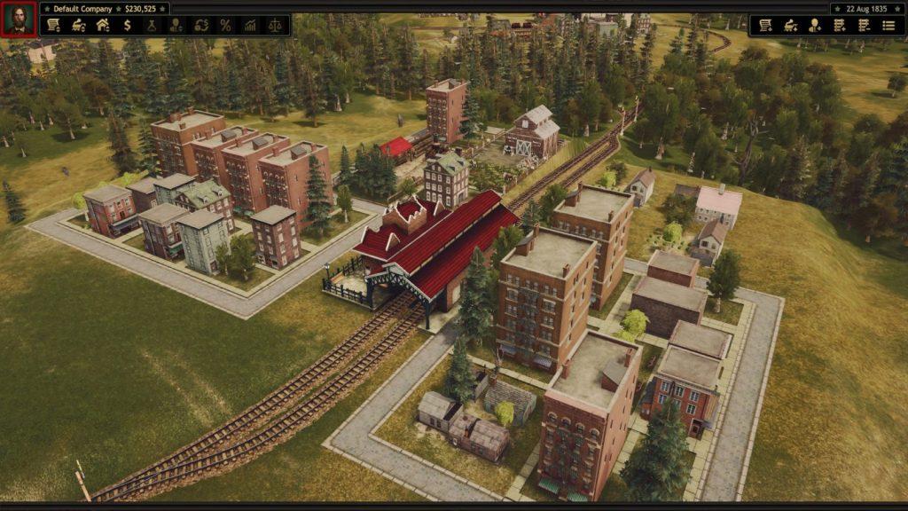 Railroad Corporation città