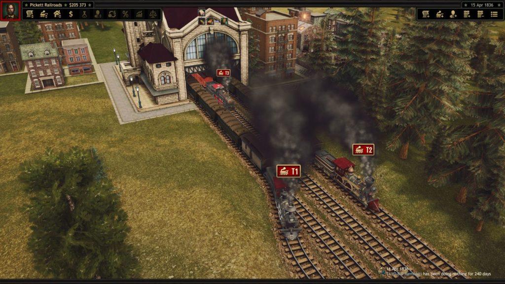 Railroad Corporation partenza