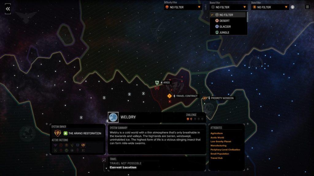BattleTech: Heavy Metal mappa