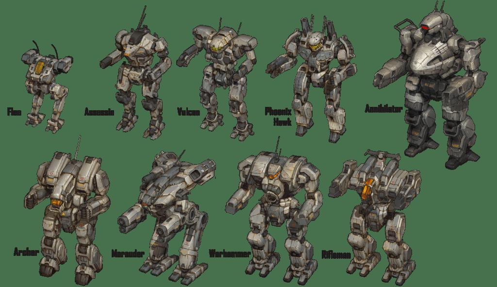 BattleTech: Heavy Metal new mechs