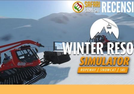 Winter Resort Simulator Recensione