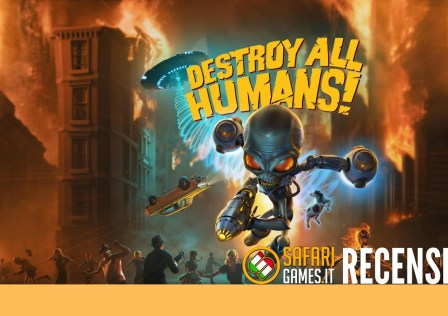 DESTROY ALL HUMANS – COPERTINA