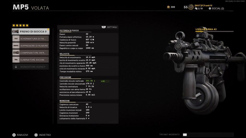 Freno di bocca 9 MP5
