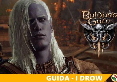 baldur's gate 3 drow
