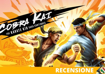 cobra kai the karate kid saga continues recensione