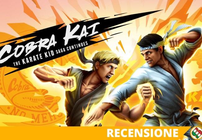 cobra kai the karate kid saga continues recensione