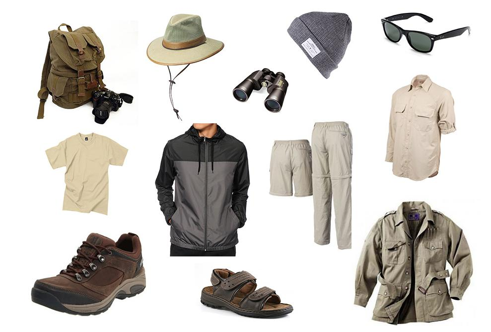 Men Attire Jungle Theme