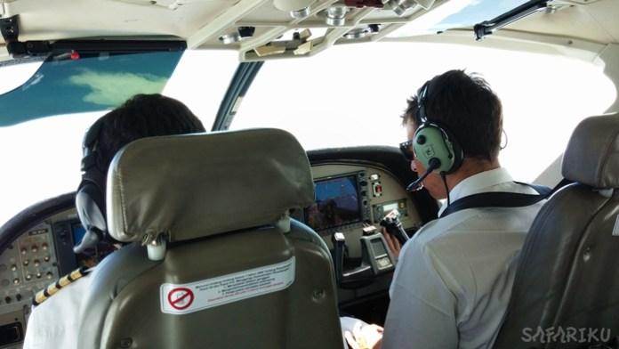 pilot susi safariku