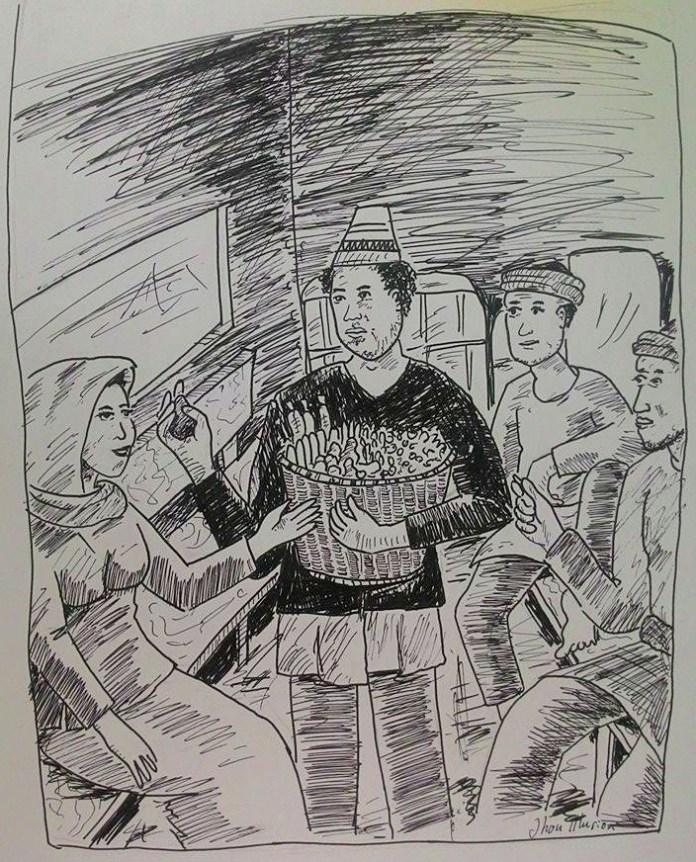 dalam kereta api