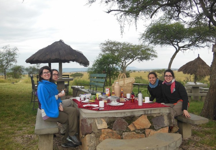 serengeti campsites