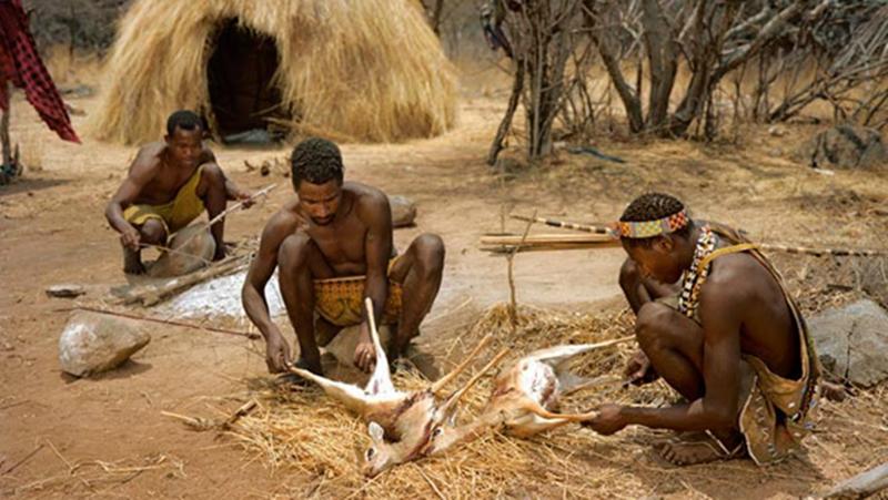 Image result for tanzania bushmen