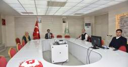 VALİ DR. OZAN BALCI OLGUNLAŞMA ENSTİTÜSÜ'NDEN BRİFİNG ALDI