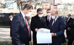 Vali Dr. Ozan Balcı, Niksar'da İncelemelerde Bulundu