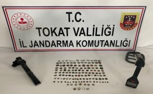 TOKAT İL JANDARMADAN TARİHİ ESER SATICILARINA OPERASYON