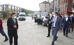 Vali Dr. Ozan Balcı, Niksar, Başçiftlik ve Reşadiye'de İncelemelerde Bulundu
