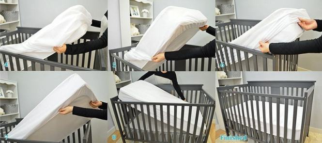 Best Waterproof Crib Mattress Pad 1
