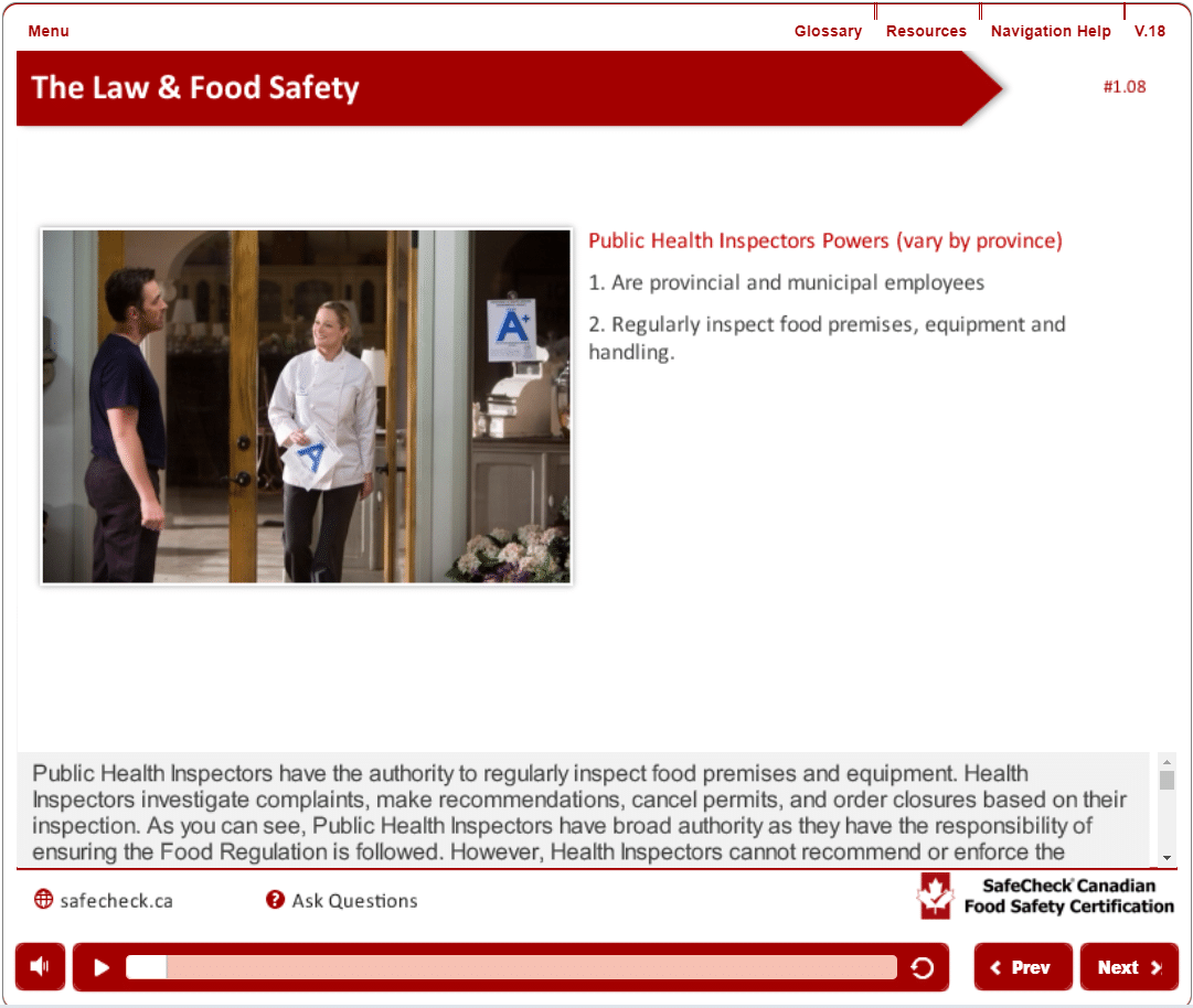 Food Safety Certification – SafeCheck® Advanced – Includes Exam & Pass  Guarantee