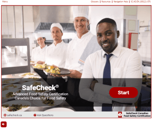 Food Handler Course - Canadian Food Safety - SafeCheck Advanced