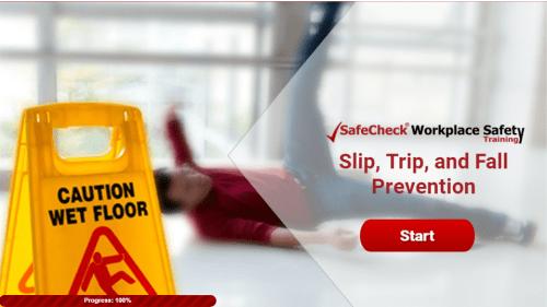 Slip Trip & Fall Prevention