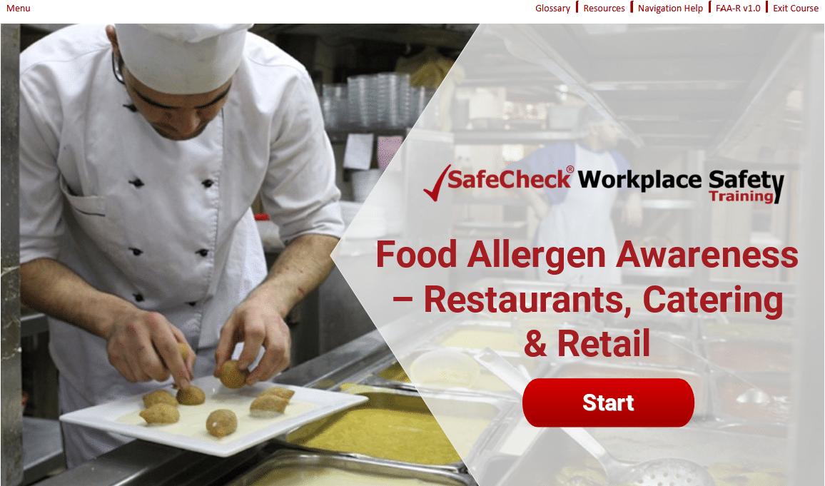 Food Allergen Awareness - Restaurants, Catering & Retail