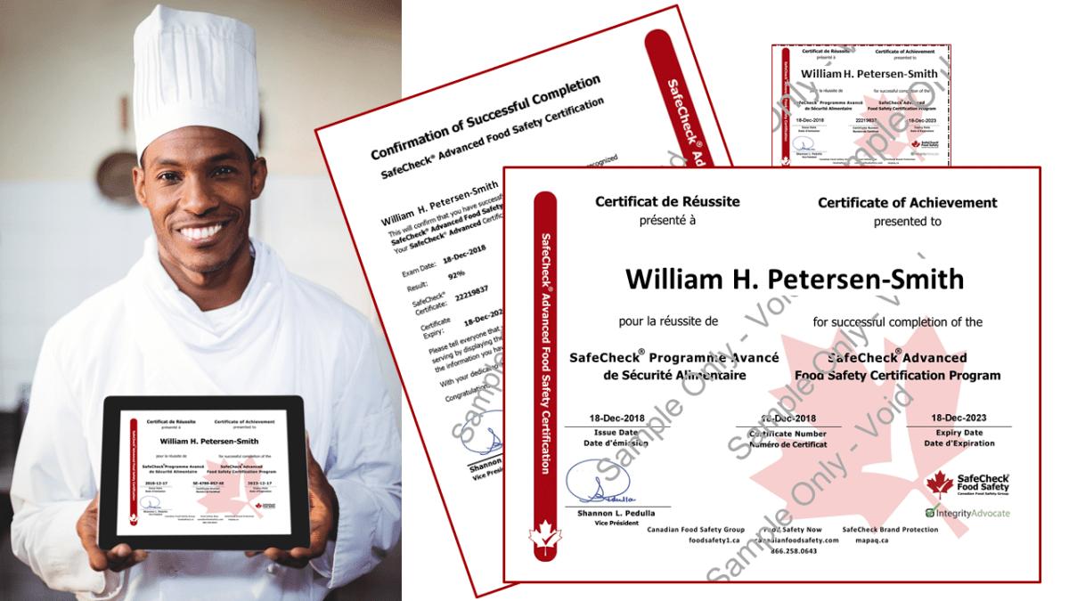 Sample Certificate & Wallet Card