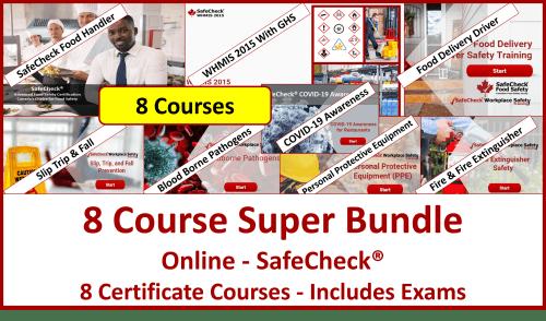 SafeCheck 8 Course Super Bundle