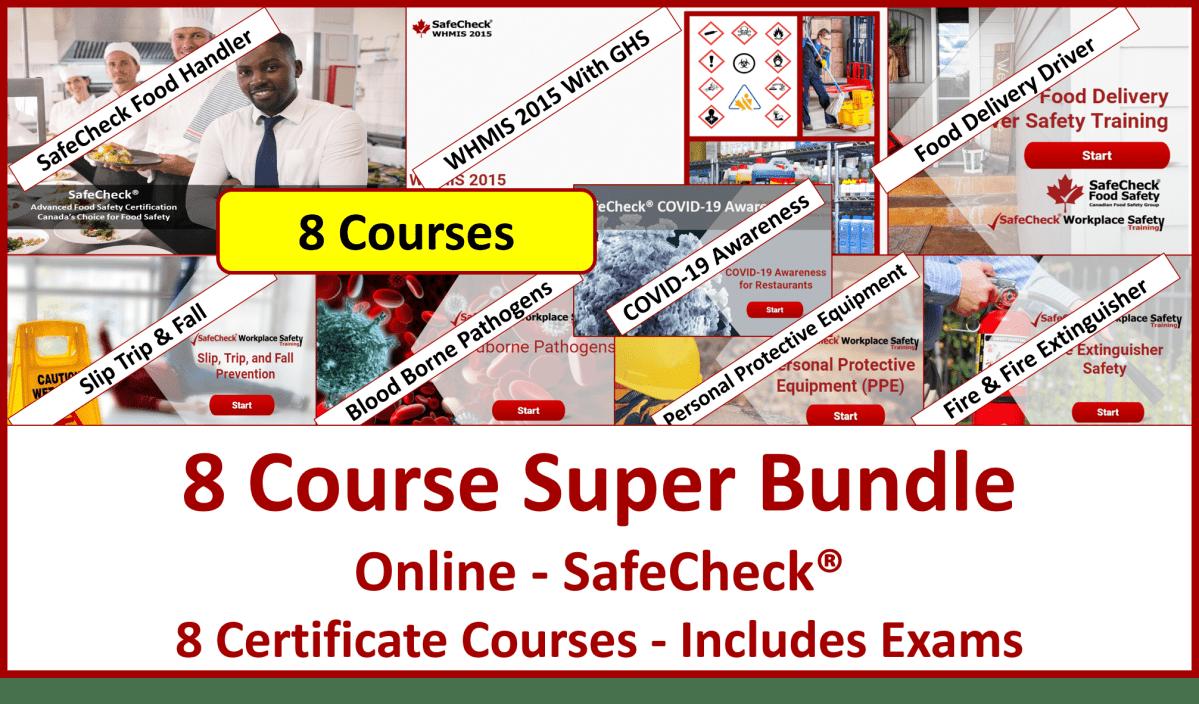 SafeCheck 7 Course Super Bundle