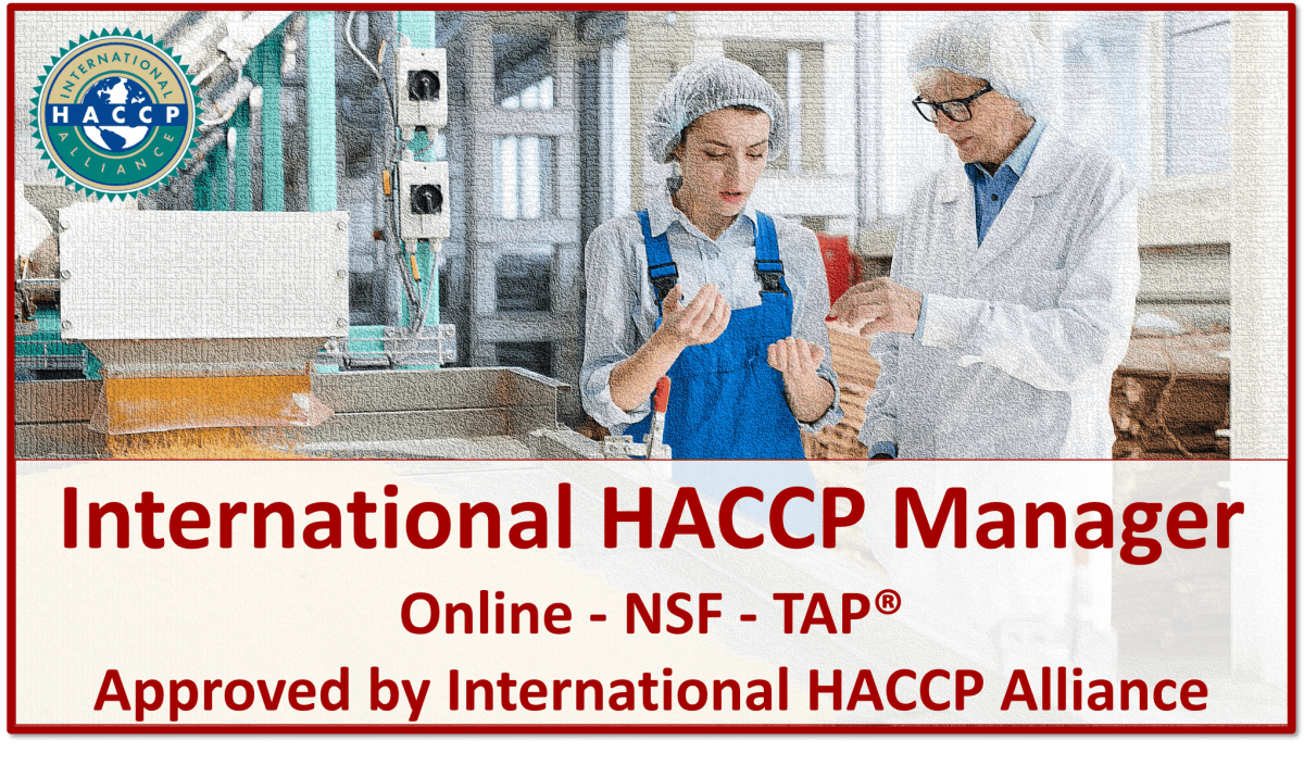 TAP NSF HACCP Manager