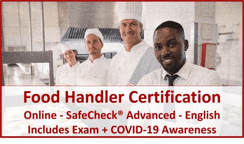 English Language Food Handler Course