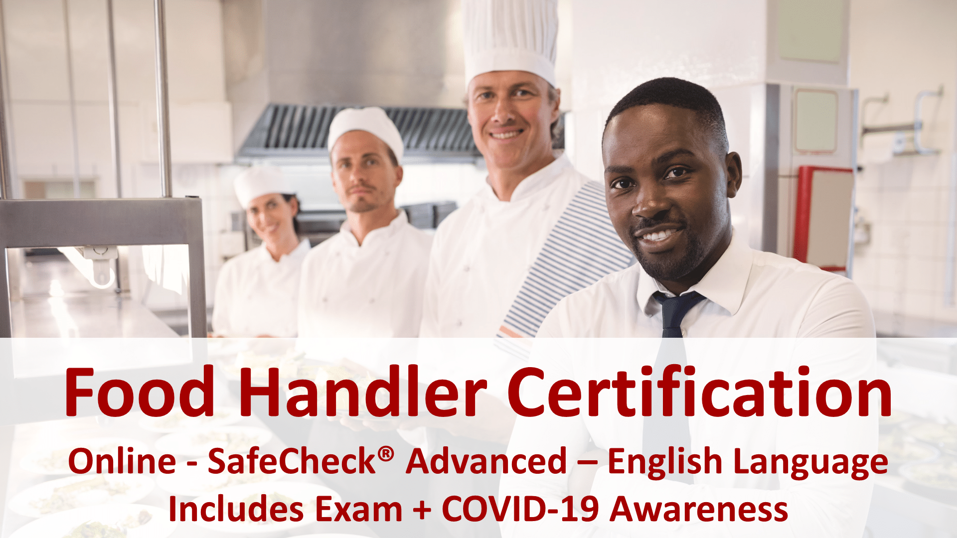 Canadian Food Handler Course - English Language
