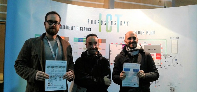 SafeCOP at ICT Proposers' Day 2017