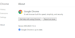 Chrome Auto Update
