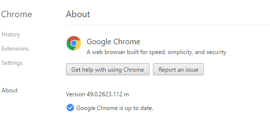 Secure Google Chrome Browsing