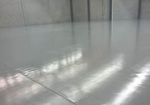 large warehouse flooring