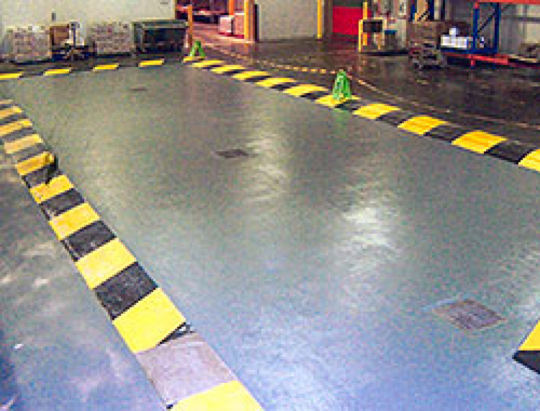 Bunds and Build Up Flooring - Commercial Flooring
