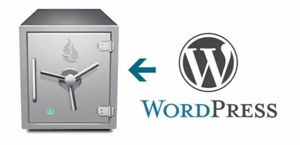 How to Back Up Your WordPress Blog and Content