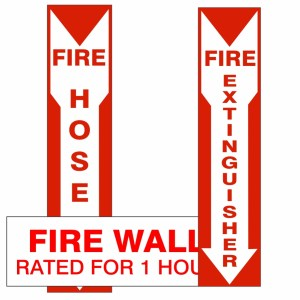 Fire Protection Signs