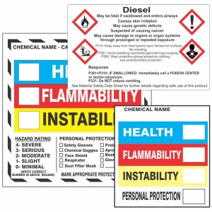 Right To Know and GHS Labels