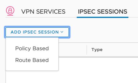 nsx-t ipsec route based