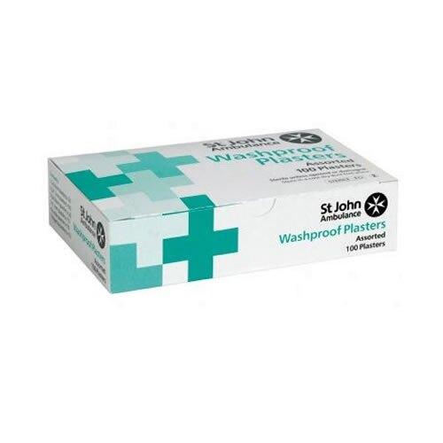 St John Ambulance Washproof Low Allergy Plasters Assorted - 100pk