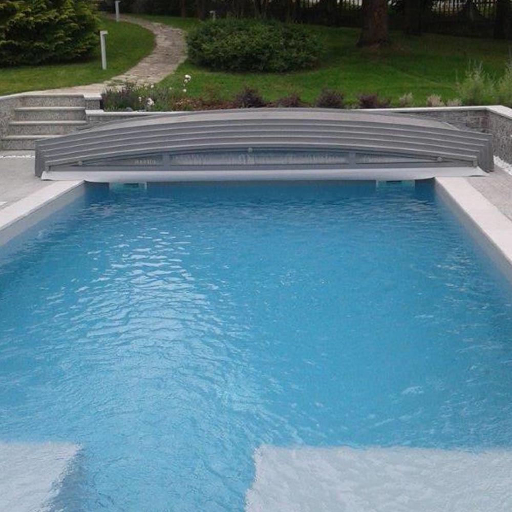 abris de piscine en kit best kit surlvation pour abri piscine amovible with. Black Bedroom Furniture Sets. Home Design Ideas