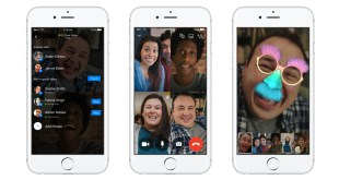 To Facebook messenger εγκαινιάζει τις ομαδικές video-κλήσεις