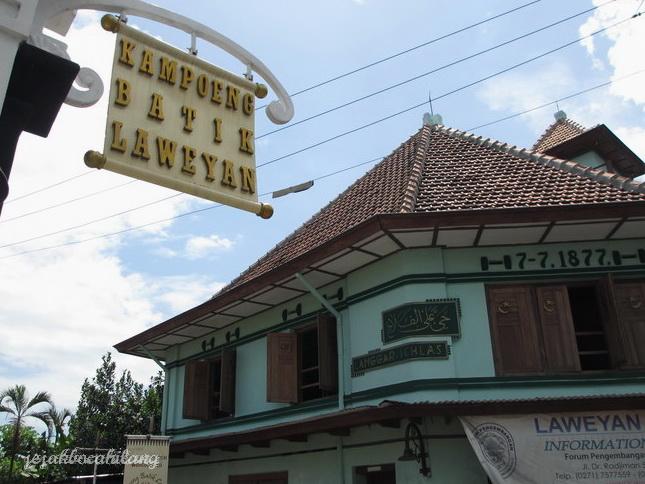 wisata solo ke kampung batik laweyan